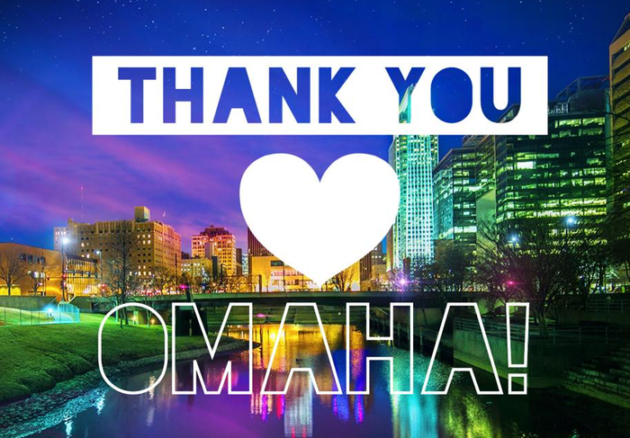 Thank you Omaha