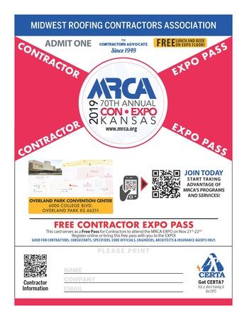 2019 MRCA Free Pass