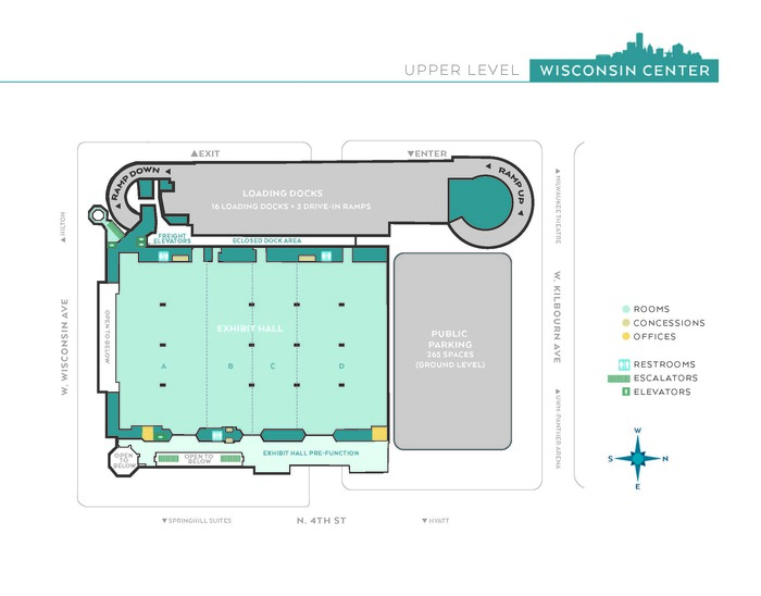 2021 Expo Hall D Map
